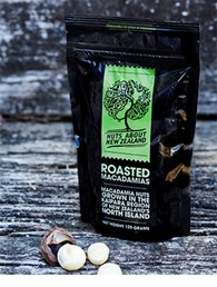 ROASTED MACADAMIAS 125g